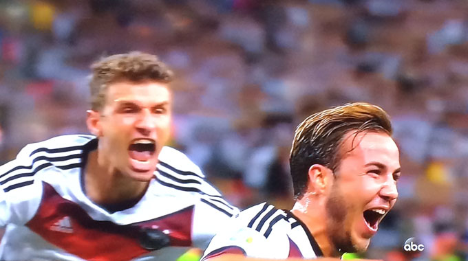 Germany wins WorldCup 2014